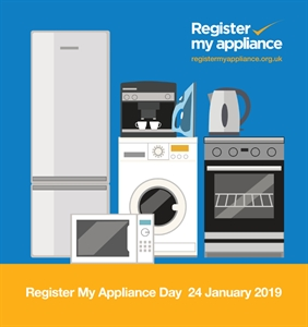 Register My Appliance Day 24 January
